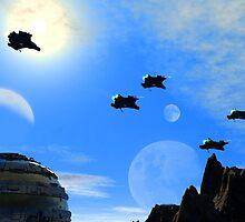 Air Patrol by Junior Mclean