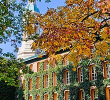 Nassau Hall, Princeton University by vadim19