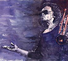 Portraits of Celebrities Jazz and Blues by Yuriy Shevchuk