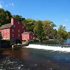 Clinton Red Mill by DCphotographs