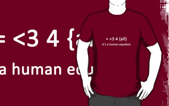 It's a human equation  - (White) by Jason Bran-Cinaed
