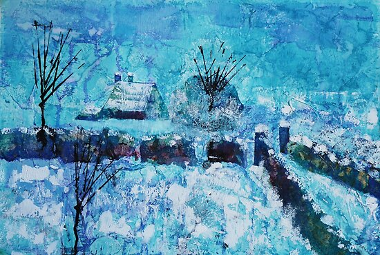 Snow scene by © Pauline Wherrell