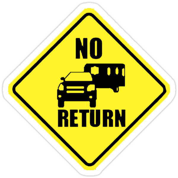 NO RETURN  by EOS20