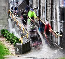 Rush hour by David Haworth