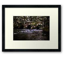 Pillaton Bridge Framed Print