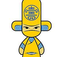 Capsule Toyz - Yellow Ninja by Saing Louis