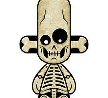 Capsule Toyz - Smily Skull by Saing Louis