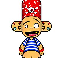 Capsule Toyz - Pirate Forever ! by Saing Louis