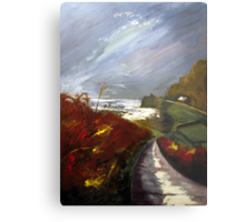 Towards Priest's Cove, Cape Cornwall Metal Print