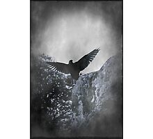 Flying The Black Flag of Himself Photographic Print