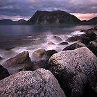 Late night in the north of Norway by Frank Olsen