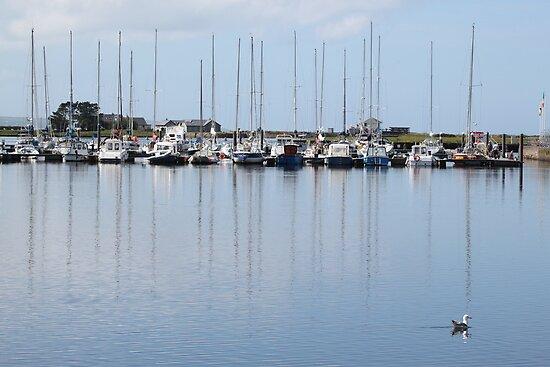 Kilrush Marina,Co.Clare by Jean O'Callaghan