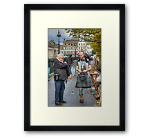 Careful John, that is not a lady Framed Print