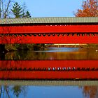 Sachs Covered Bridge by Sharon Batdorf