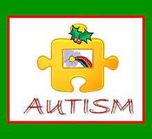 Autism Christmas Card by Jonice
