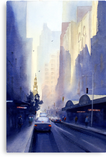 York Street, Sydney by Joe Cartwright