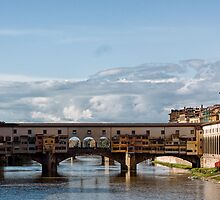 Ponte Vecchio Bridge by Lynne Morris