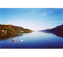Clearly Autumn ~Entering Loch Ness; Leaving Fort Augustus Photographic Print