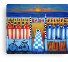An Italian Summer's End Canvas Print