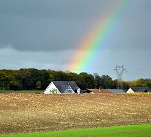A Rainbow in France by Gayle Dolinger