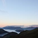Morning light from Helvellyn by David Robinson