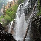 Falls in Glenwood Springs, CO  by Sjkphotography
