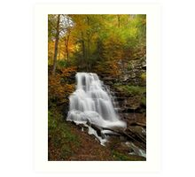 Erie Falls (Autumn) Art Print