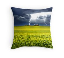 Lightning of Ruin Throw Pillow