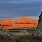 Badlands NP / Sea Frame by Mark Bolen