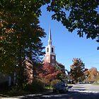 Pretty Brandon, Vermont by Peggy Burch