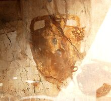 Ancient Street Art-Pompeii, Italy by Deborah Downes