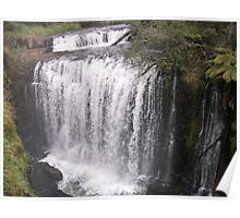 Double Falls at Guide Poster