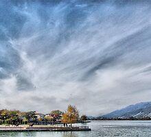 Lake Ioannina /  Λίμνη Ιωαννίνων by Tasos Triantafyllou