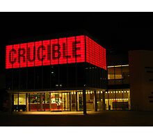 The Crucible, Sheffield Photographic Print
