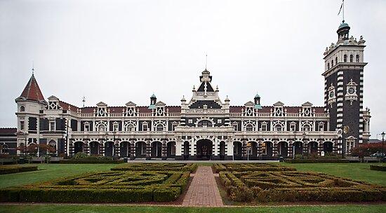 Dunedin Railway Station by Odille Esmonde-Morgan