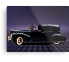 1941 Lincoln Continental City Limousine once owned by Henry Ford Metal Print