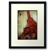 eiffel flower Framed Print