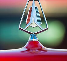 1964 Plymouth Hood Ornament by Jill Reger