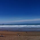 Fistral Beach Panoramic by photomodern