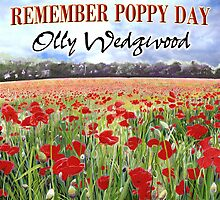 Remember Poppy Day by Olly Wedgwood- CD & Video Art by Poppy-Art