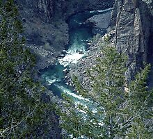 The Black Canyon of the Gunnison by RC deWinter