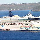 'The Norwegian Spirit in Bar Harbor' by Scott Bricker