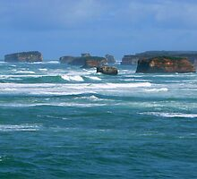 Great Ocean Road # 13 by Virginia McGowan