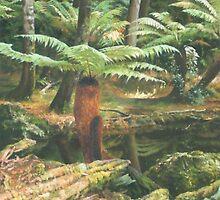 Forest Waltz by dyas