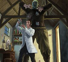monster loose in victorian science laboratory by martyee