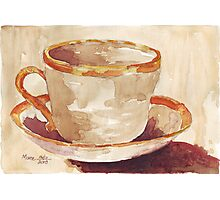 Be a coffee-drinking individual - Espresso yourself!  Photographic Print