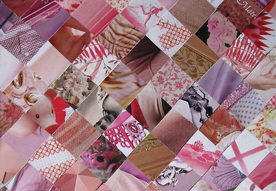 Pink card by Sanne Thijs