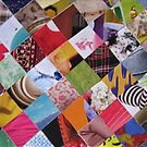 Funky mosaic card by Sanne Thijs