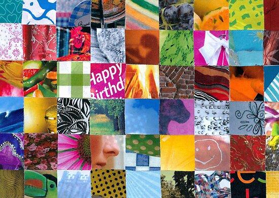 Birthdaycard by Sanne Thijs