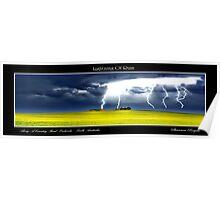 Lightning Of Ruin Panorama Poster